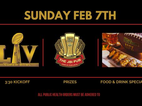 Super Bowl LV at the James Bay Inn Pub