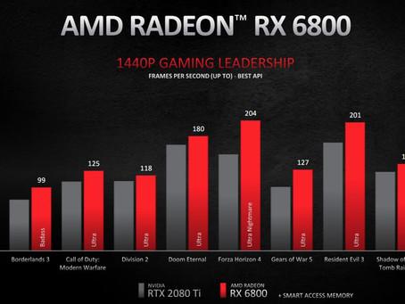 AMD RX 6000 Grafik Kartı Serisi lansman ile tanıtıldı işte nvidia rakip ekran kartları