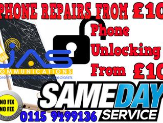 Repairs & Unlocking from £10