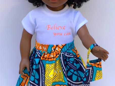 Meet Makayla, Inspirational Fashion Doll