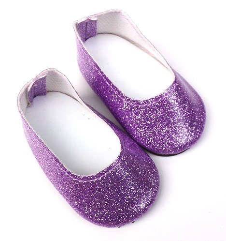 Lavender Glitter Shoes