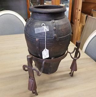 Unique Iron Pot