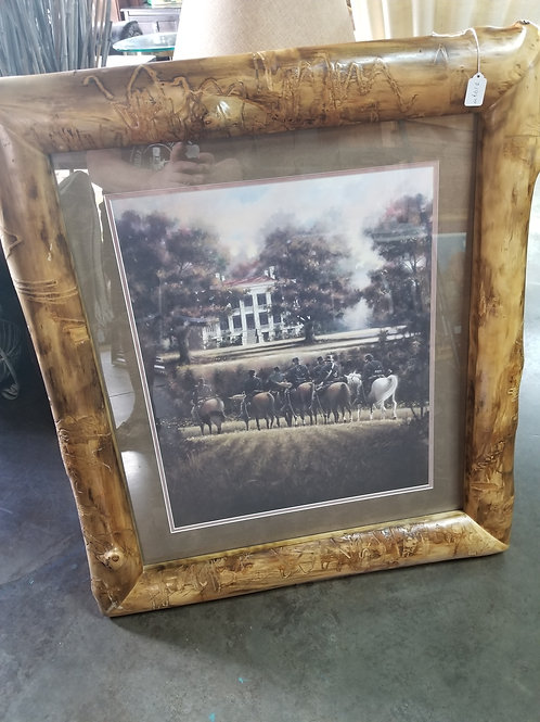 Soldiers on Horses Print