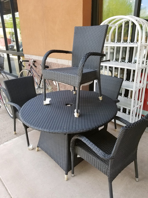 New 5 Pc Patio Set - Resale Consign Surprise AZ Furniture & Decor Design With Cents