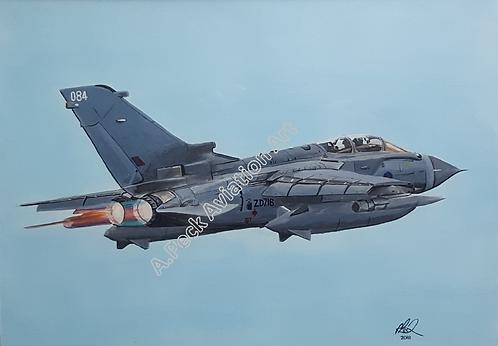 Tornado GR4 unframed limited edition print