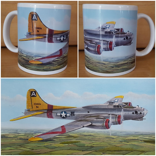 94th Bomb Group Boeing B17G 43-38834 ceramic mug