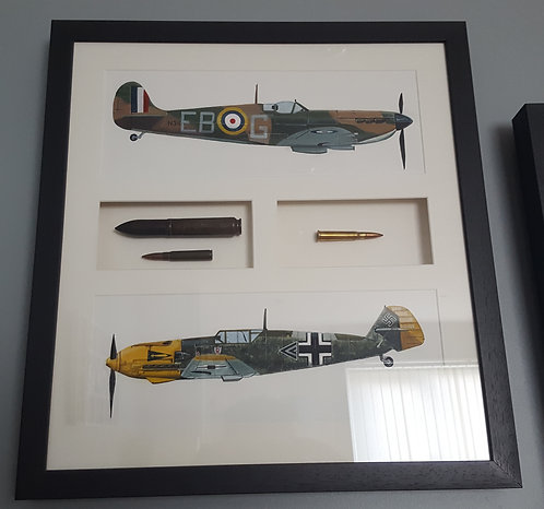 Weapons of the Battle of Britain framed original painting