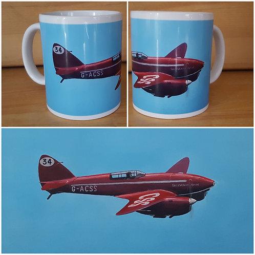 Comet Racer ceramic mug