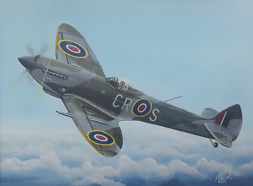 Spitfire Mk.XVI TD248 Original Painting