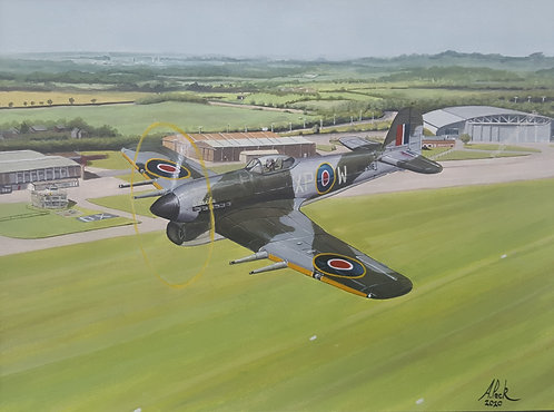 Typhoon Over Duxford unframed limited edition print