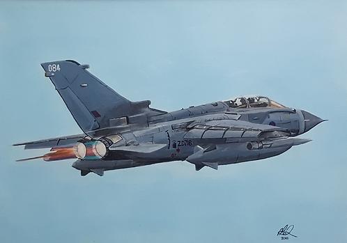 Tornado GR4 framed limited edition print (large)