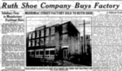 Newburyport Daily News Ruth Shoe Buys Factory Merrimac Street