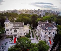 Foto aérea Palacio dos Cedros