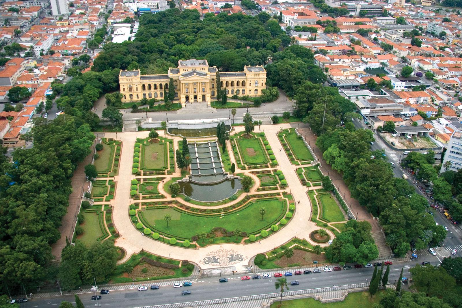 Foto Aérea Museu Paulista