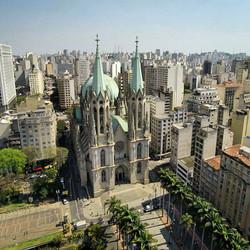 Catedral da Se Imagem aerea
