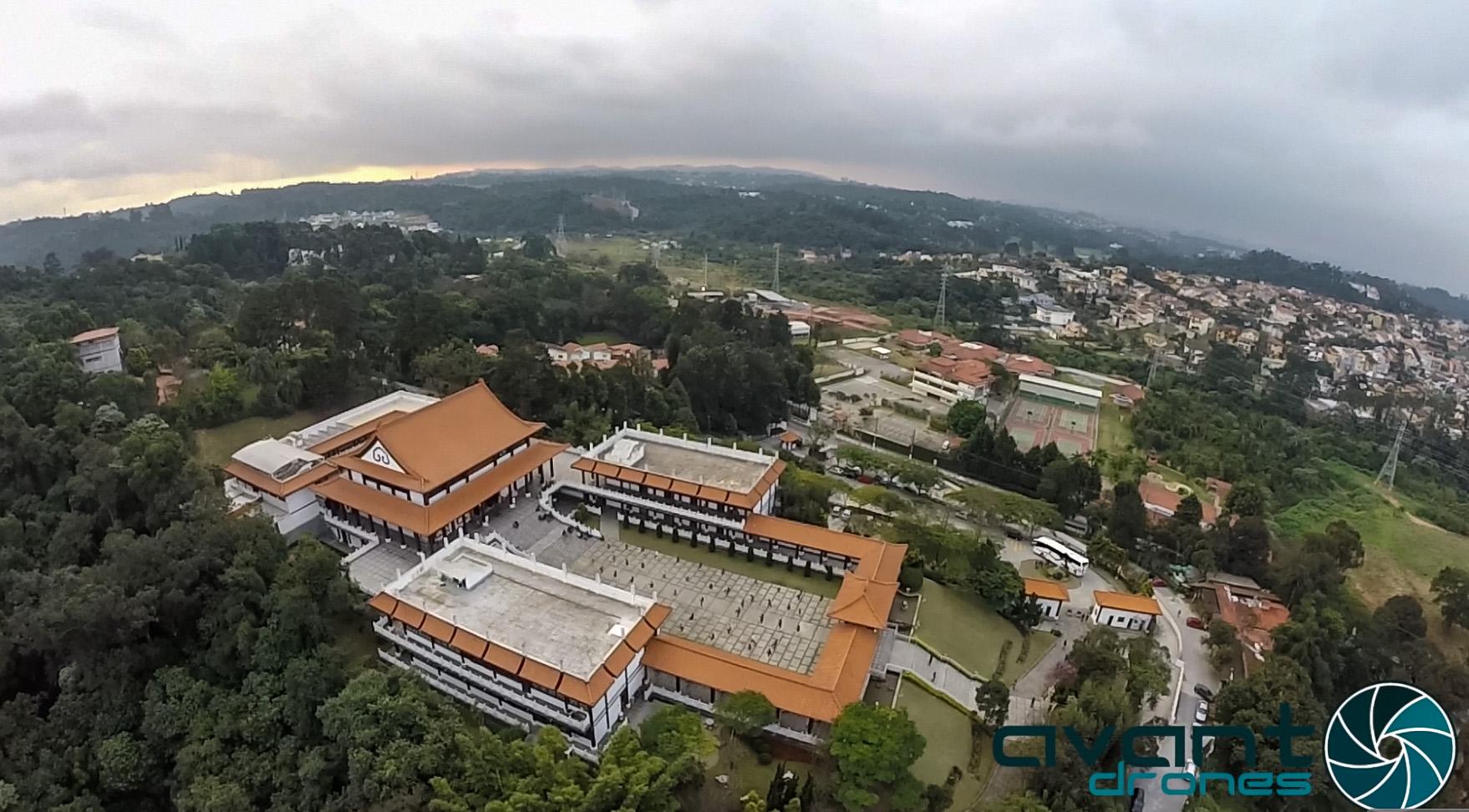 Imagem Aérea Templo Zu Lai