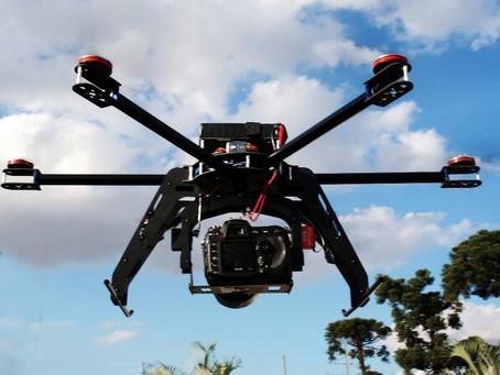 Drones para imagens aéreas