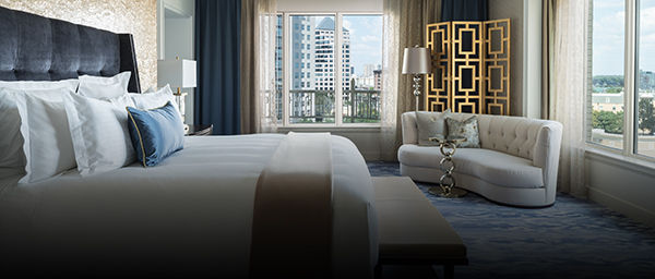 A deluxe room to rent at the Ritz-Carlton, Dallas