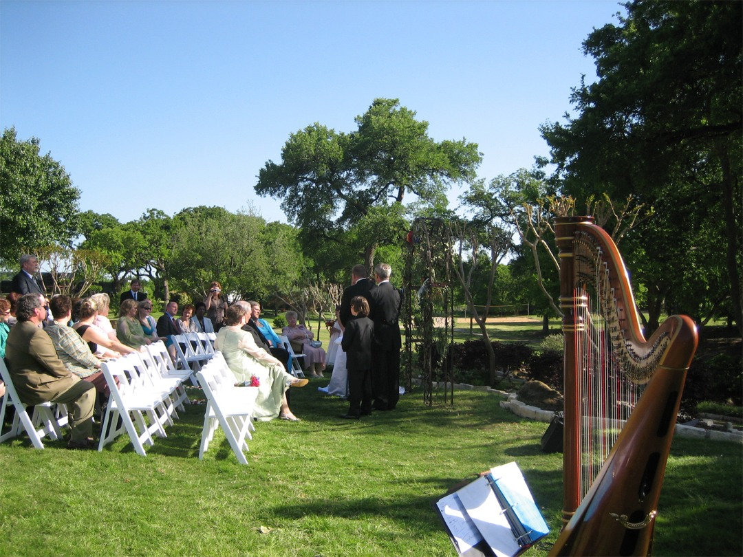 Harpist Outdoor Wedding.jpeg