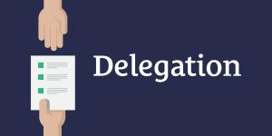Delegation | Walking In The Light