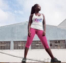 bossy girls run pink leggins.png