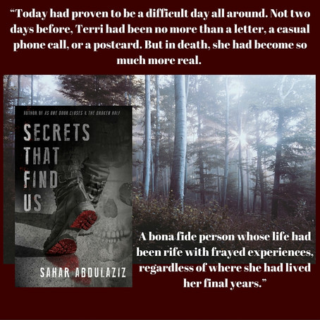 NEW RELEASE: SECRETS THAT FIND US