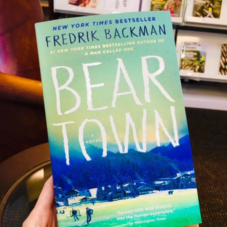 Book Review: BEARTOWN by Fredrik Backman