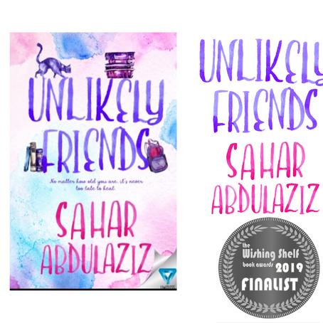 UNLIKELY FRIENDS – A 2019 Wishing Shelf Book Award Finalist