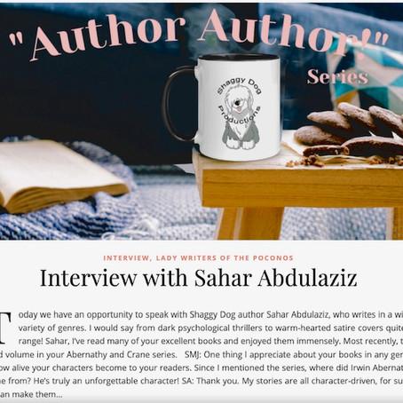 SHAGGY DOG PRODUCTIONS, LLC: INTERVIEW WITH SAHAR ABDULAZIZ