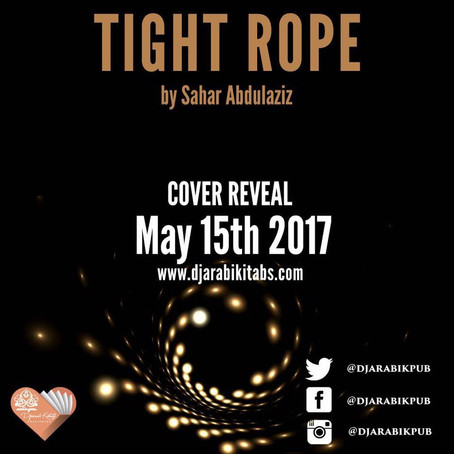 TIGHT ROPE Cover Reveal - May 15th!