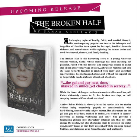 UPCOMING RELEASE-COMING SOON! THE BROKEN HALF