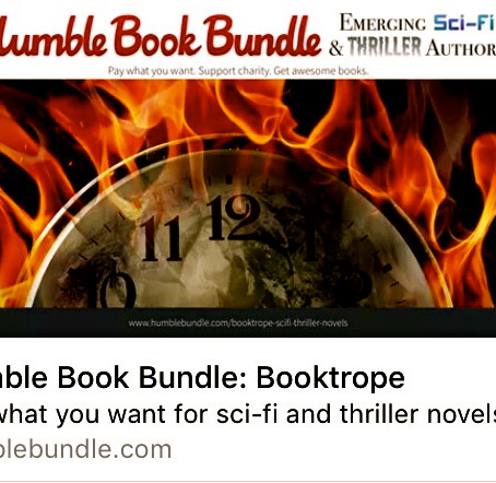 The Humble Book Bundle: Emerging Sci-Fi & Thriller Authors