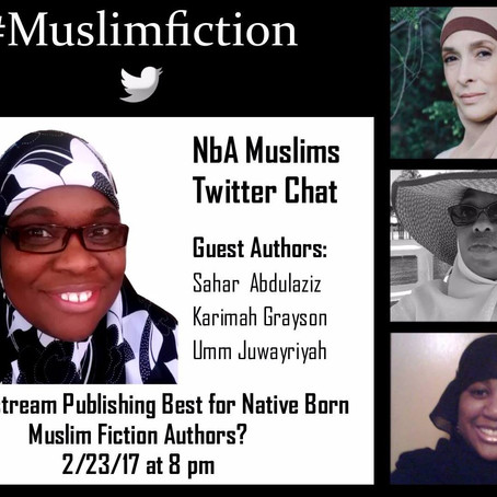 #Muslimfiction NbA Muslims Twitter Chat