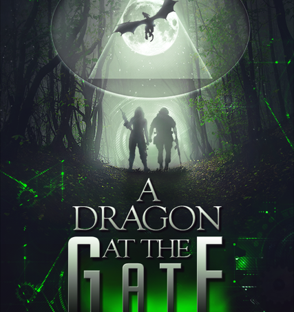 COVER REVEAL : A DRAGON AT THE GATE
