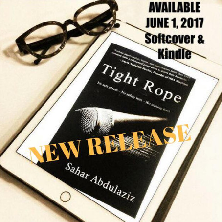 New Release! TIGHT ROPE by Sahar Abdulaziz