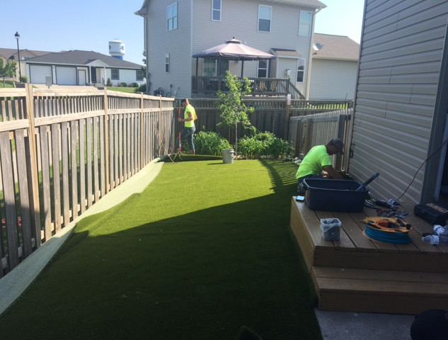 Installation of K9Grass Classic