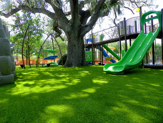 """Picking the Right Playground Grass for Children's """"Turf"""""""