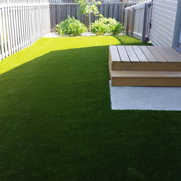 After installation of K9Grass Classic