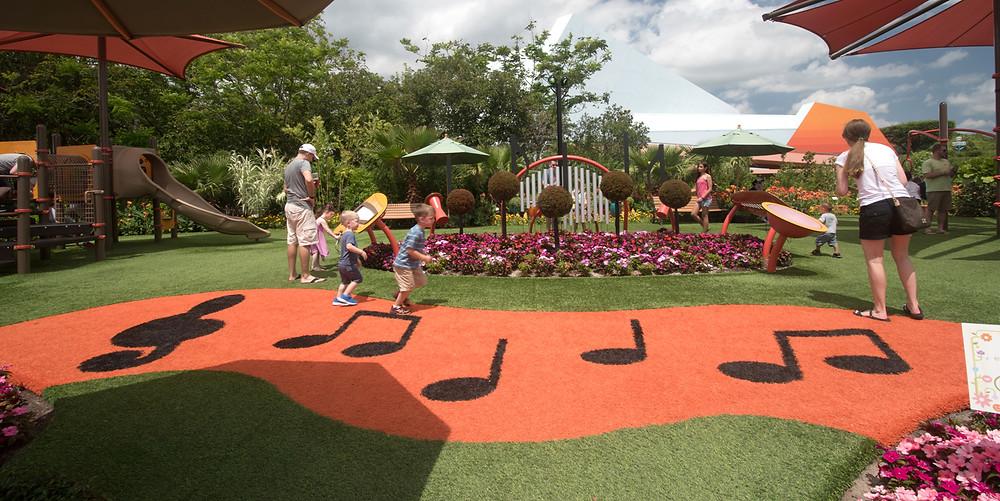 Epcot International Flower Garden & Festival
