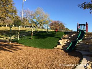 We Love Playground Grass!