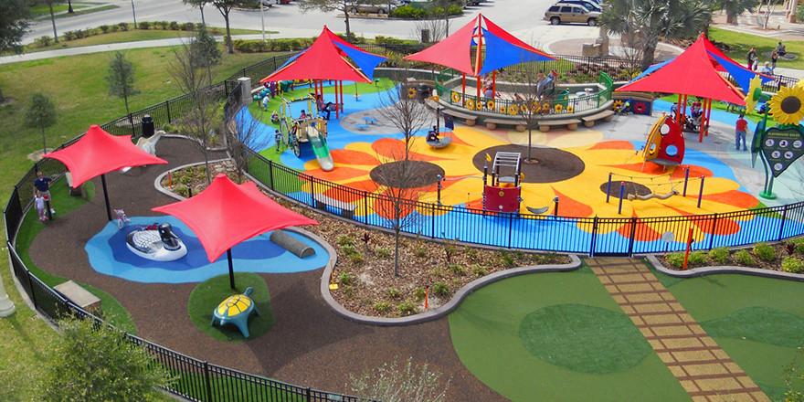 Sunflower Preschool Playground