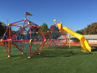 School Gets New Playground Surfacing