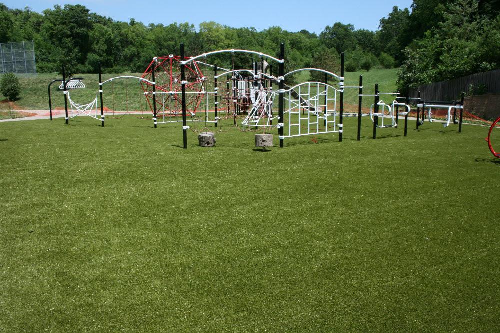 Fort Osage - Playground Grass