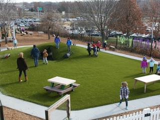 Kids Love New Playground Grass Surfacing
