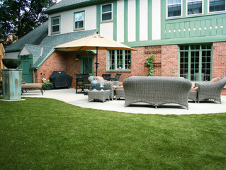 Want a Beautiful Outdoor Space with Less Work?