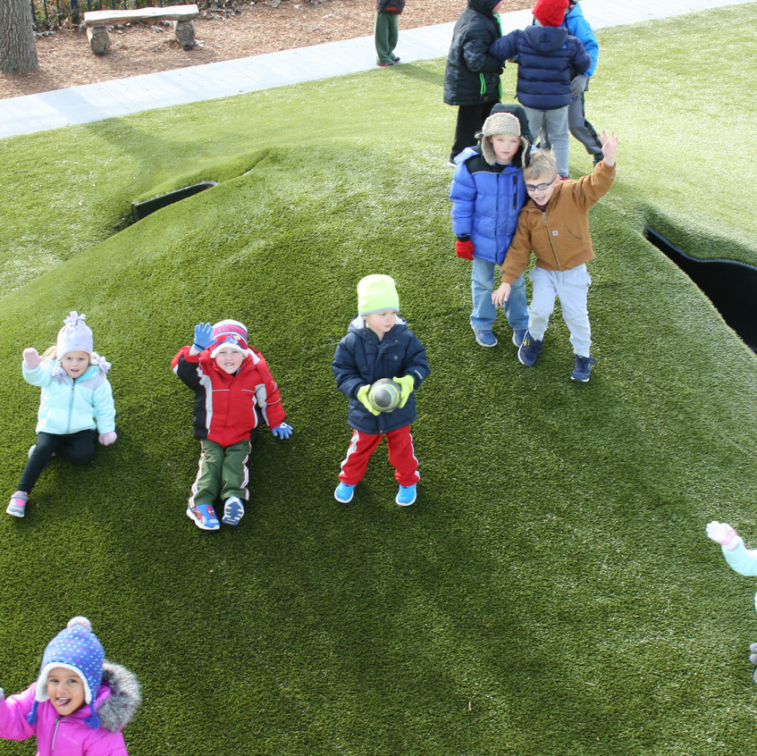 3- to 5-year-old playground