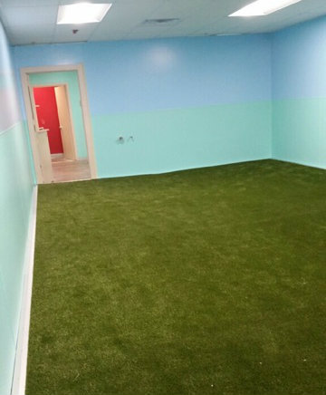 Completed K9Grass installation.