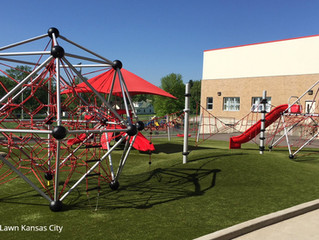 Playground Topography Adds Play Value