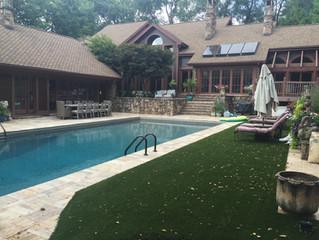 Backyard Pool Oasis in Kansas City