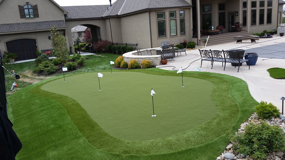 Residence - putting green